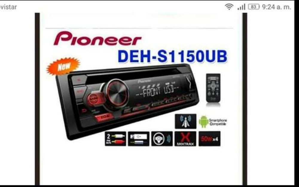 Vendo Radio Pioneer Deh- S1150ub
