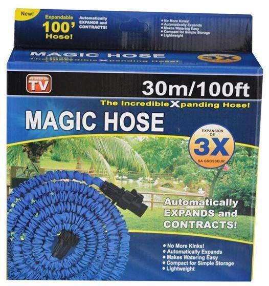 MANGUERA MAGIC HOSE 30 METROS EXPANDIBLES