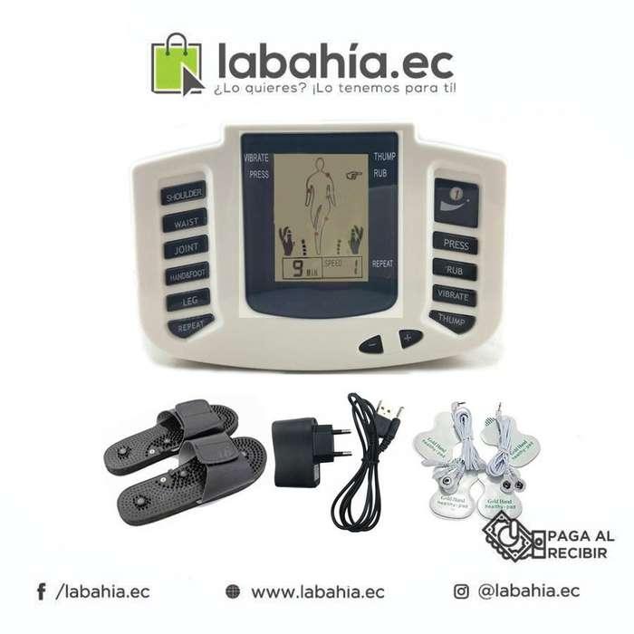 Electrodos masajeador Terapia Pasiva Zapatillas 4 Eletrodos