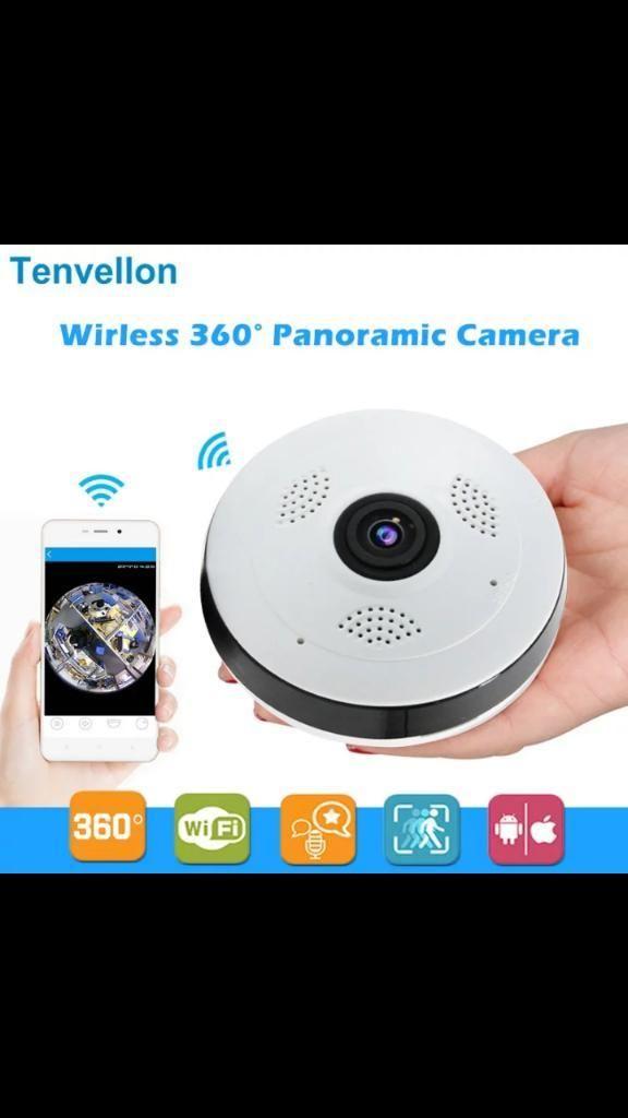 Camara Ip 360 Techo Wifi