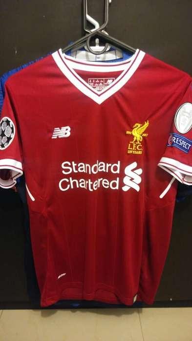 Camiseta Liverpool 2018 Champions League