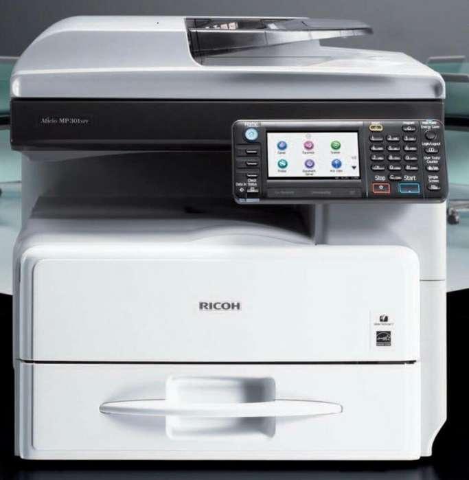 Fotocopiadora Multif. Ricoh Aficio Mp301
