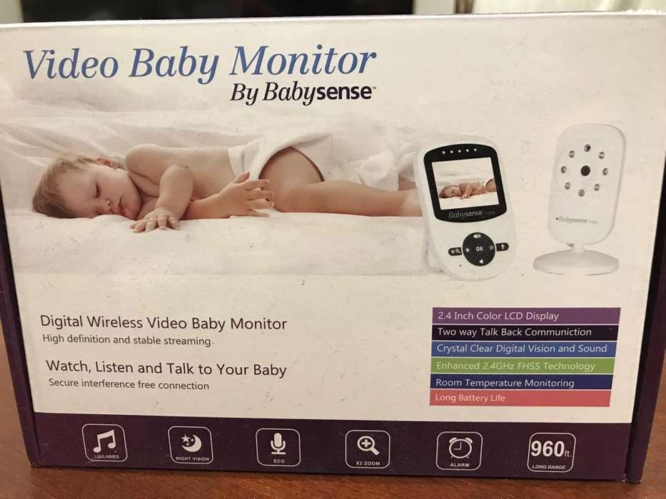 Cámara Monitor para Bebés