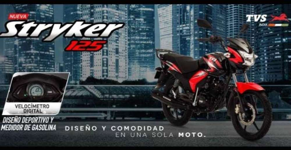 <strong>nueva</strong> Tvs Stryker 125 Moriwoki