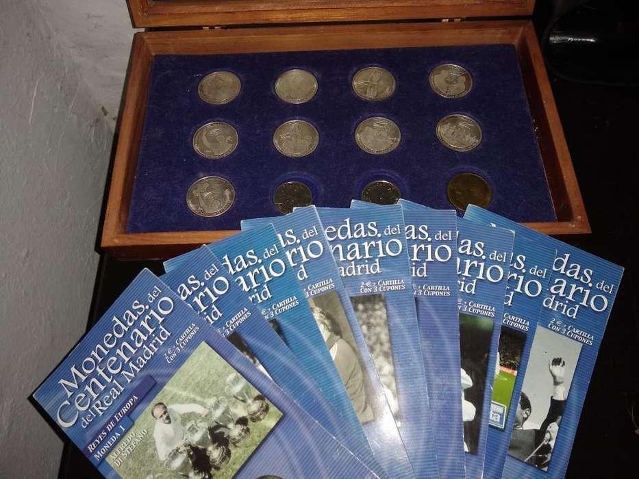 Monedas Centenario Real Madrid