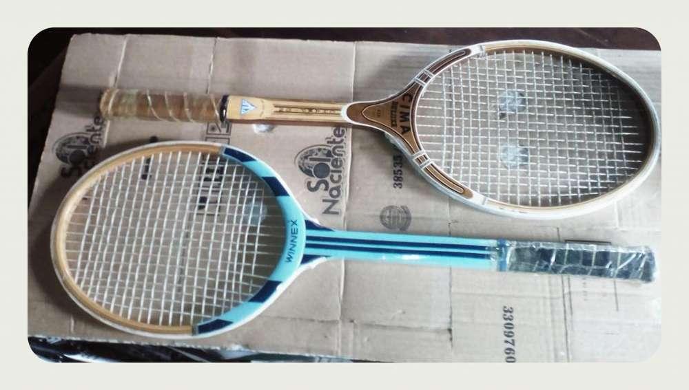 Raquetas Tenis M4 1/2 y L4 1/2 170.000 pesos.