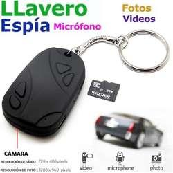 Camara Espia LLavero USB HD Oculta Escondida
