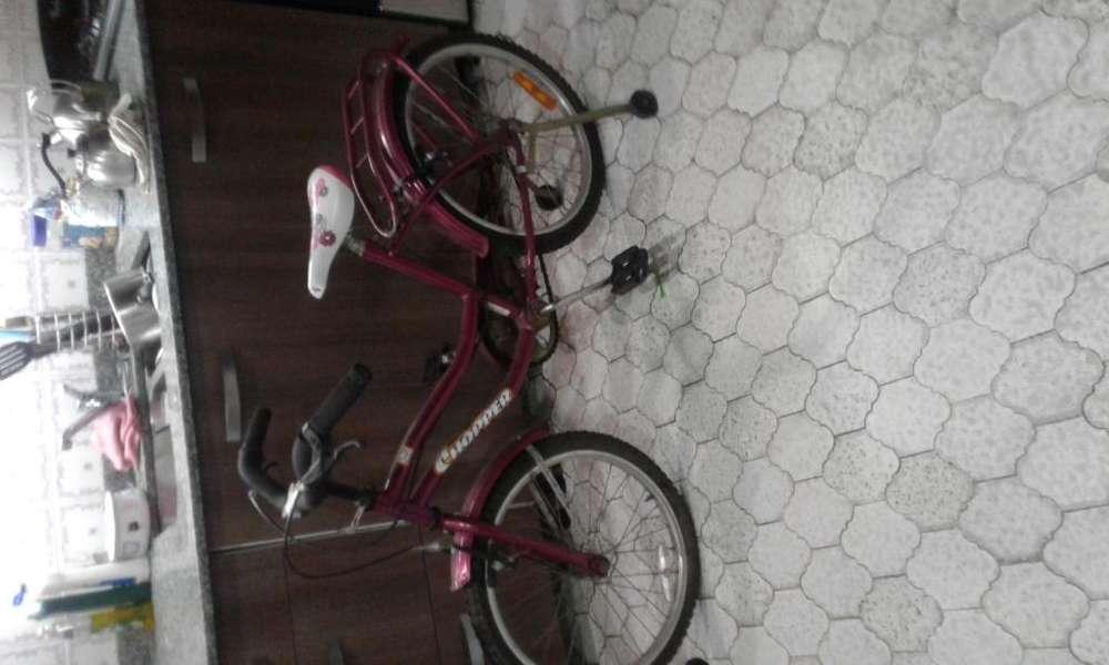 Bicicleta rodado 20 excelente estado con rueditas tel 1566686629