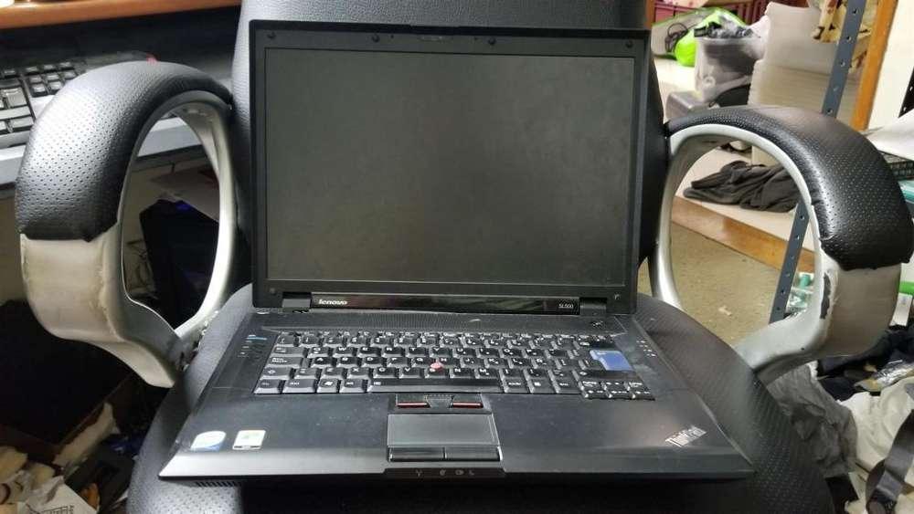 T710 Computador Portátil Lenovo Thinkpad SL500 para reparar o repuestos