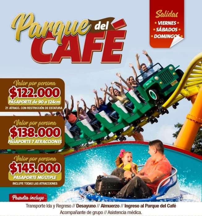 Parque del Café 30 junio y todos los fines de semana tel 3152251840