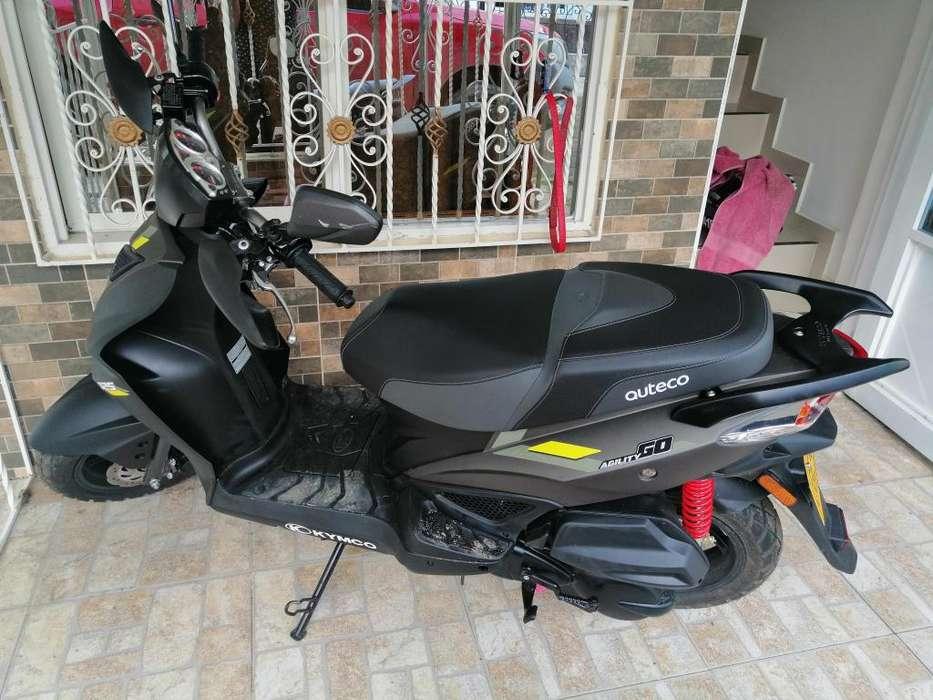 SE VENDE MOTO AGILITY GO MODELO 2020
