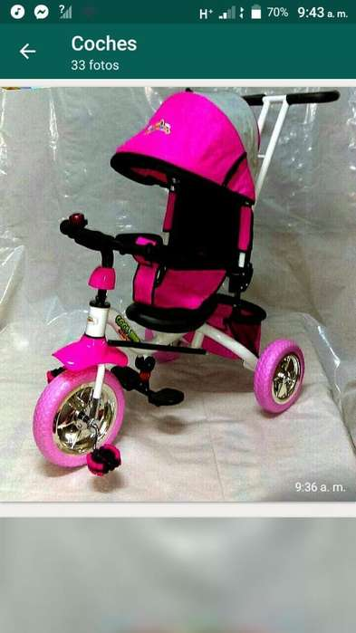 Vendo Lindo Triciclo Completente Nuevo
