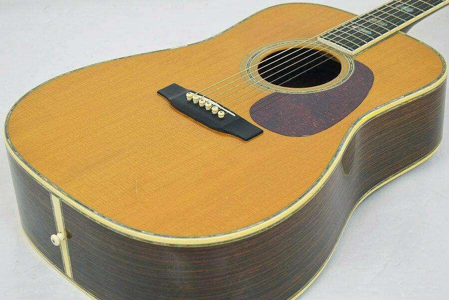 Martin D-45 guitarra acústica Japón rara hermosa cosecha popular popular