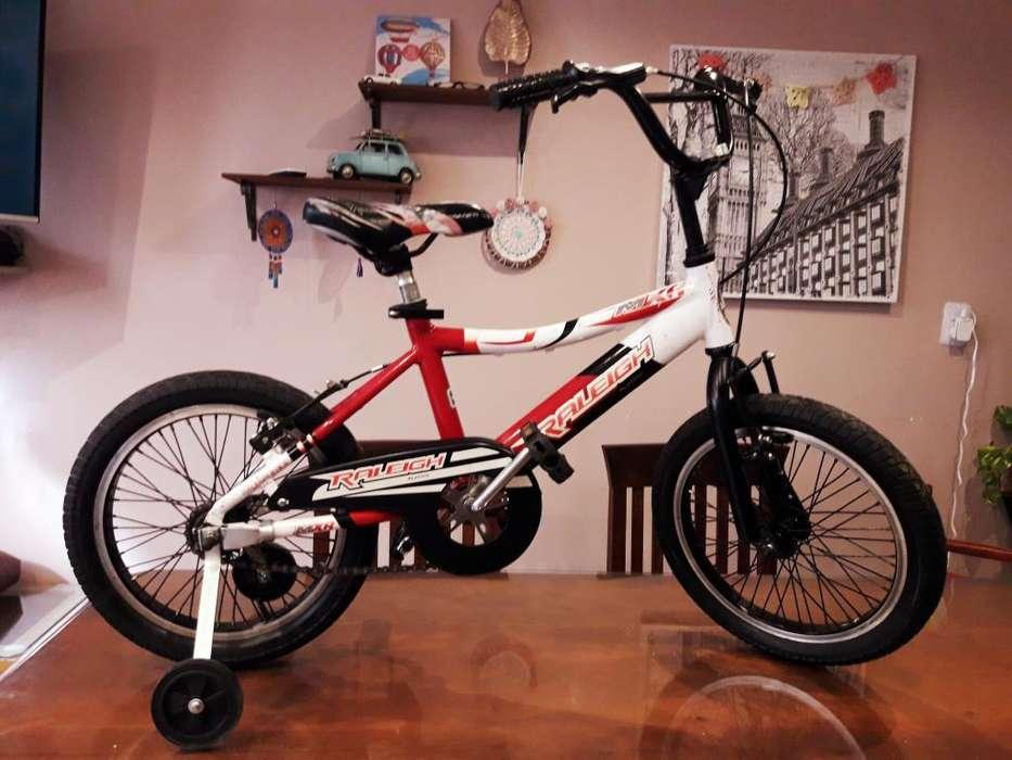 Bicicleta Bmx Rodado 16 Marca Raleigh