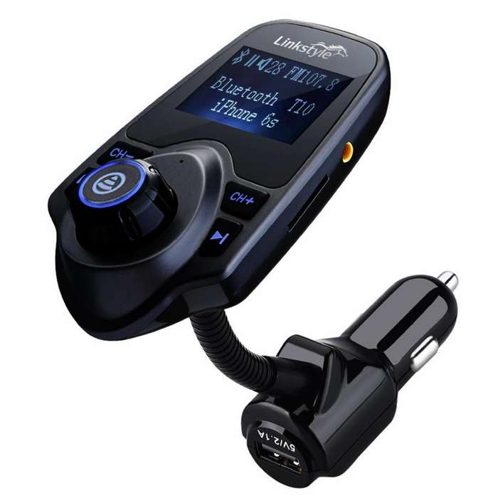 BLUETOOTH FM TRANSMITTER BLACKWEB