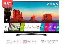 <strong>televisor</strong> LG 55 PULGADA 4K UHD IPS HDR USADO.