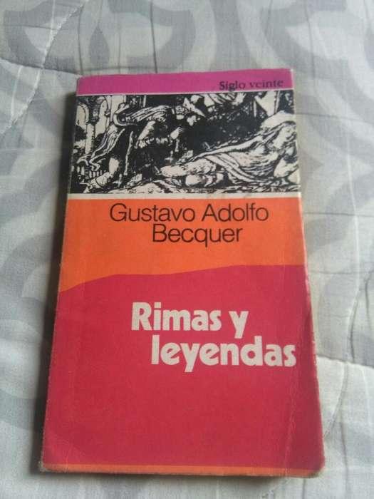 Rimas Y Leyendas . Gustavo Bécquer . libro editorial Siglo Veinte
