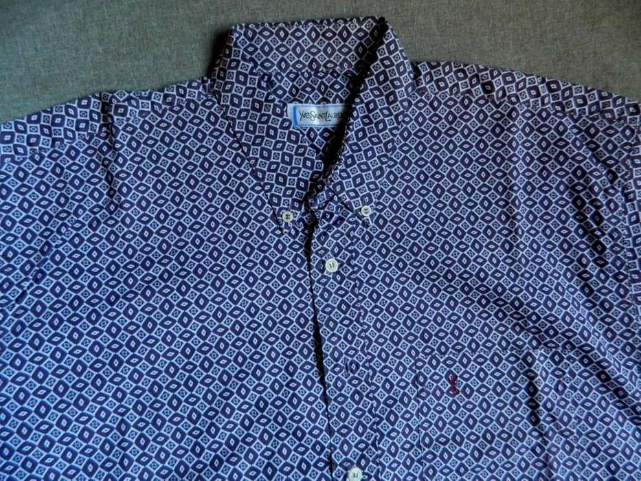 <strong>camisa</strong> Ysl Yves Saint Laurent nueva espectacular talle 40 Medium