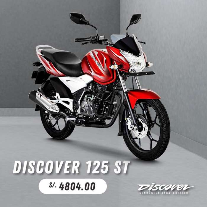 MOTOCICLETA DISCOVER 125ST