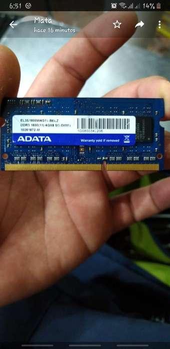 Memoria Ram Ddr3 de 4gb Adata