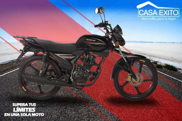 Moto Shineray Xy150-10D 150cc Año 2019 Color Rojo,negro, Azul Casa Éxito