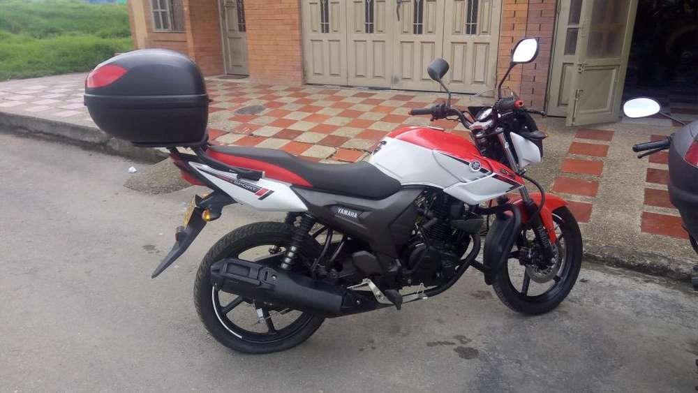 VENDO MOTO <strong>yamaha</strong> 150 CC SZR EDICION ESPECIAL