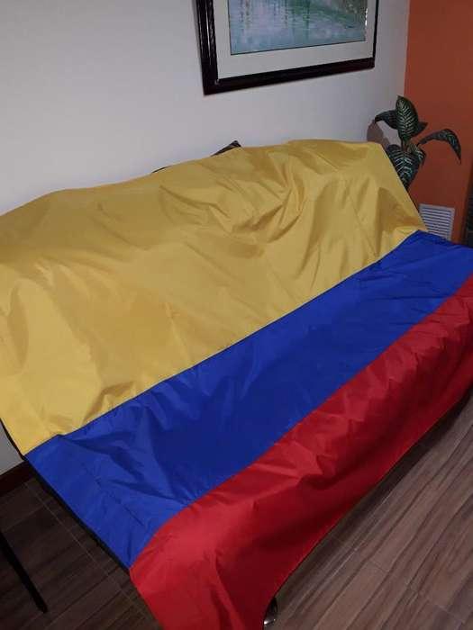 Bandera De Colombia Intemperie 3 X 2. Vendaval Doble Faz