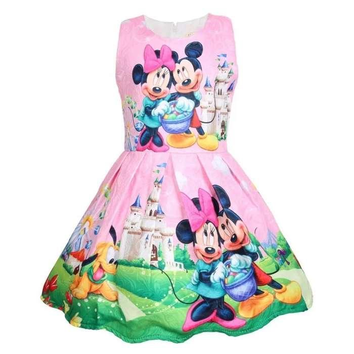 Vestido para Niñas de Minnie Mouse