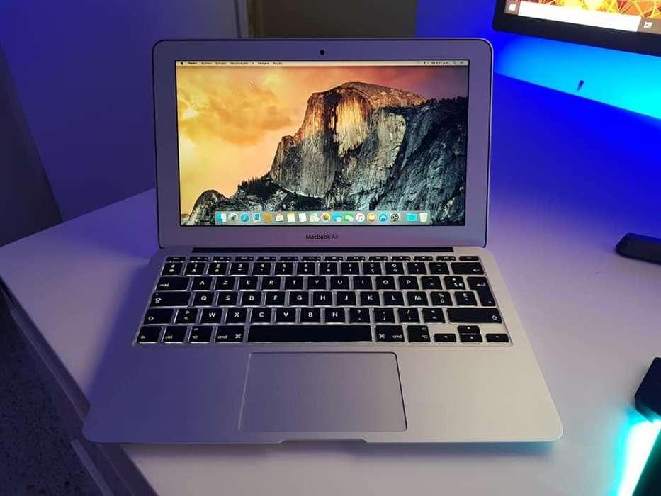 PORTATIL MACBOOK AIR 13 2014 i5 To 2.70GHZ, 128GB DISCO SSD SOLIDO, 4GB RAM, 423 CICLOS
