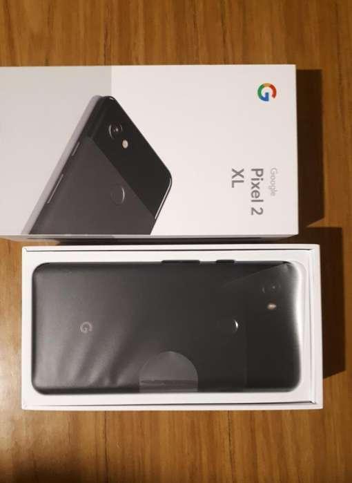 Celular Google Pixel 2 Xl 64gb Negro, Libre Nuevo En Caja