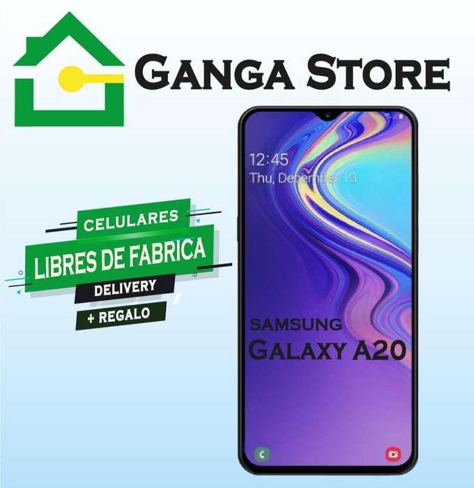 Samsung A20 Libre de Fabrica Tienda