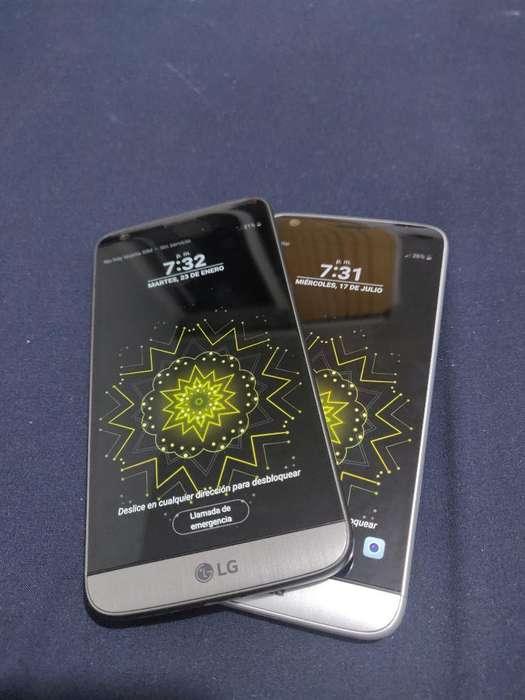 Lg G5, Totalmente Funcionales,gris\plata