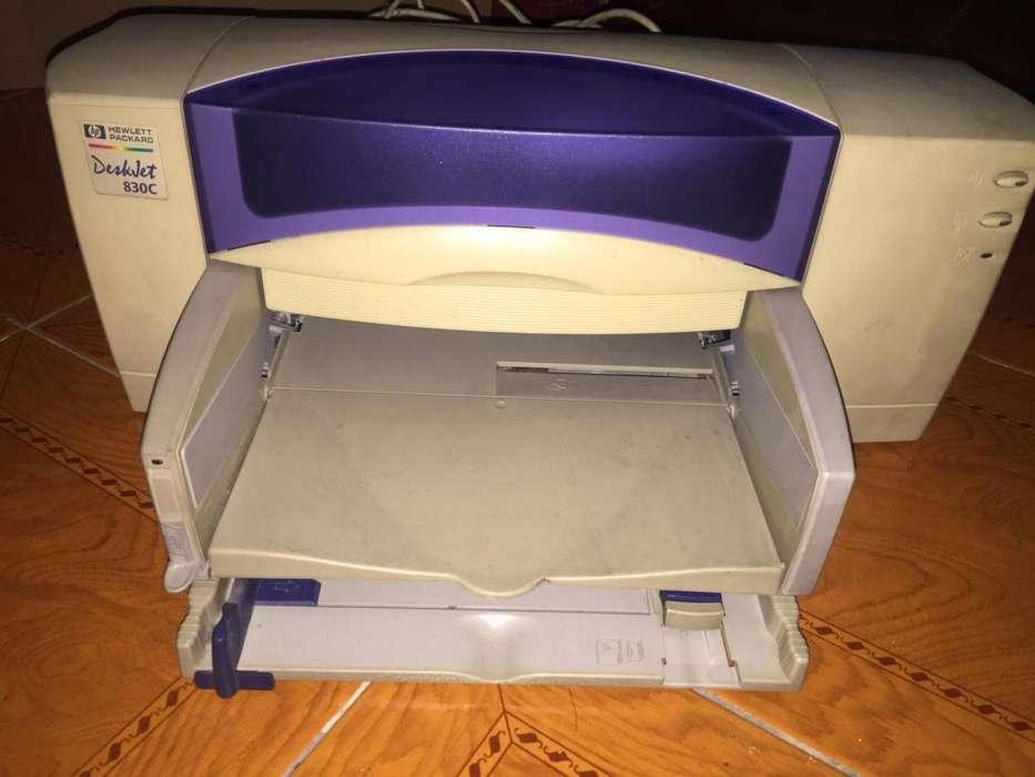 Impresora Hp Deskjet 830c Color Usb Con Cartuchos Originales