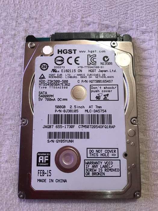 Disco Duro 500Gb Hgst Apple