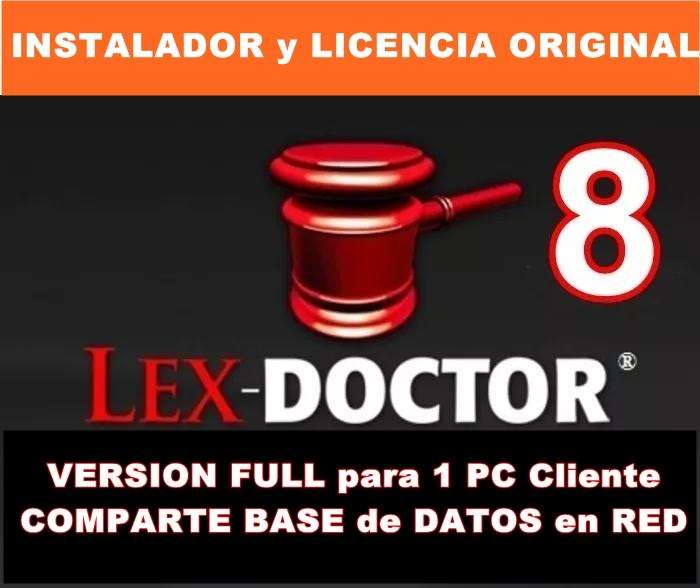 Programa para Abogados Estudios juridicos Lex Doctor CHAVEZ COMPUTACION