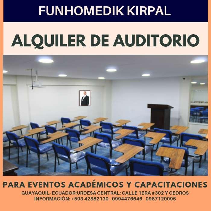 ALQUILER DE AULA PARA EVENTOS ACADÉMICOS EN URDESA CENTRAL