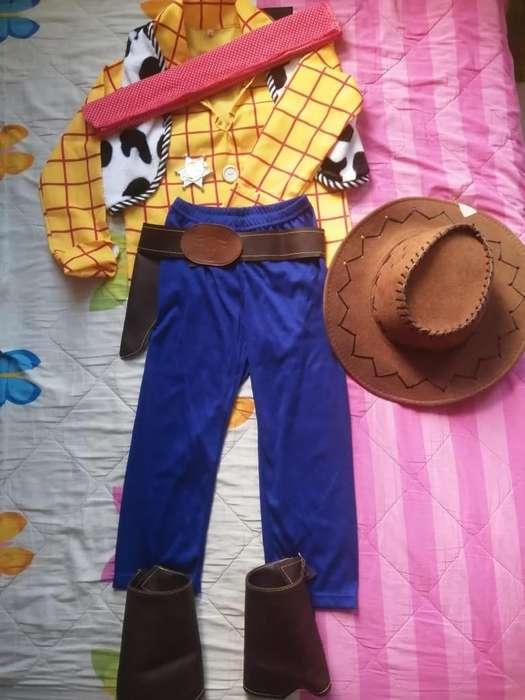 Disfraz Woody Niño