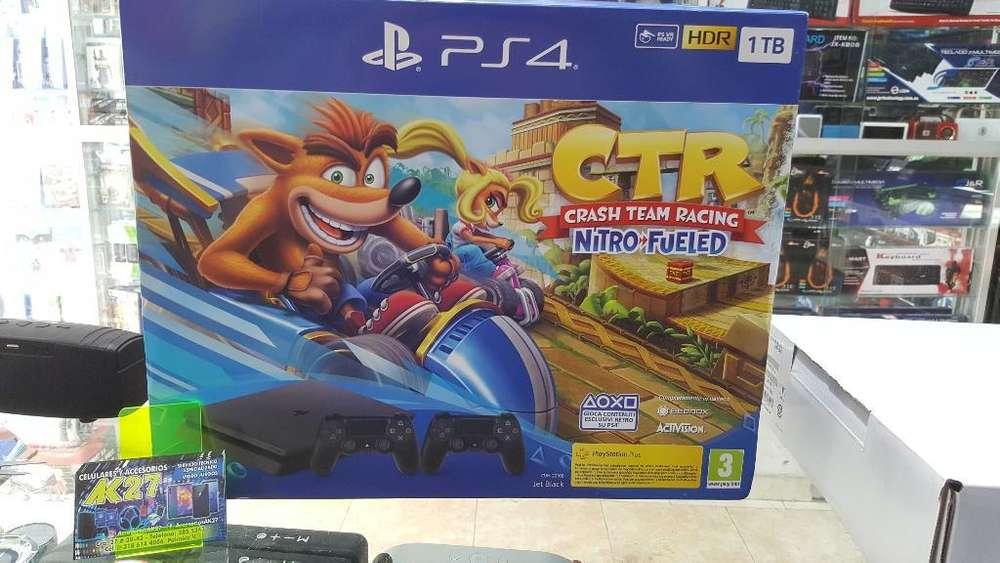 Playstation 4 1tb 2 Controles Crash Ctr