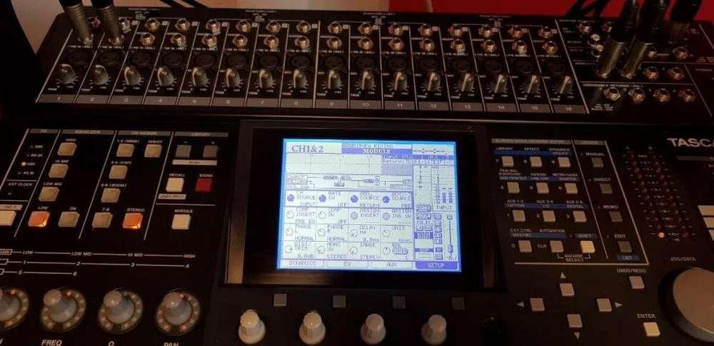 Consola Digital Tascam Dm24