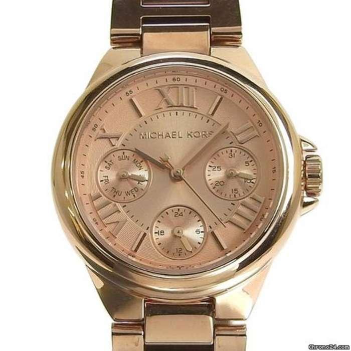 Reloj Michael Kors 6447 Nuevo Oro Rosado