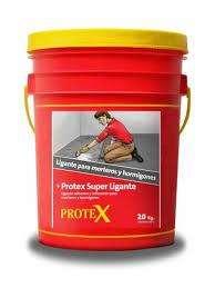 SUPER LIGANTE PROTEX Balde x 20kg. - Puente Adherencia Hormigón X 20kg