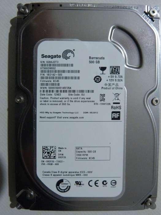 Disco Rígido Seagate 500GB SATA