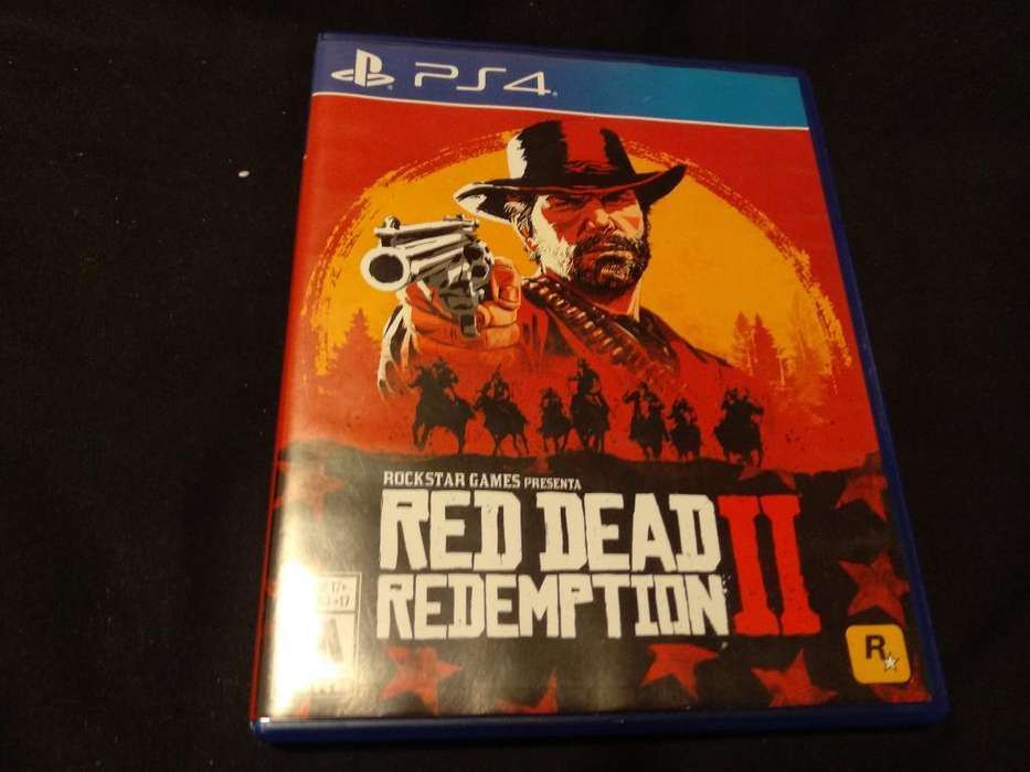 Juego Red Dead Redemption 2 - Ps4