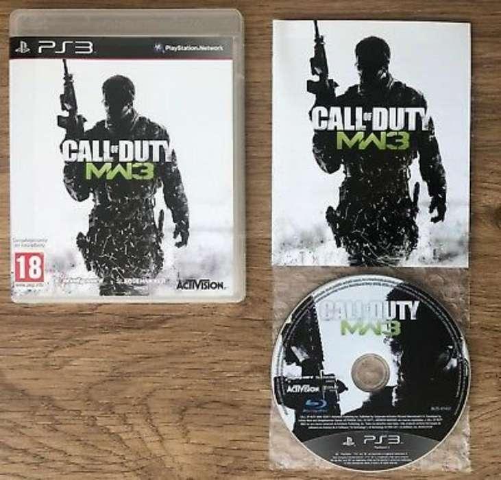 Vendo Solo Vendo Call Of Duty Mw 3 Ps3
