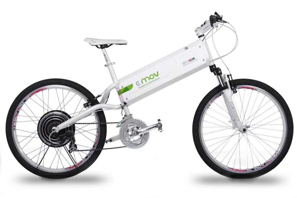 Bicicleta Electrica EMOV. Solo uso de exhibicion y test drive.