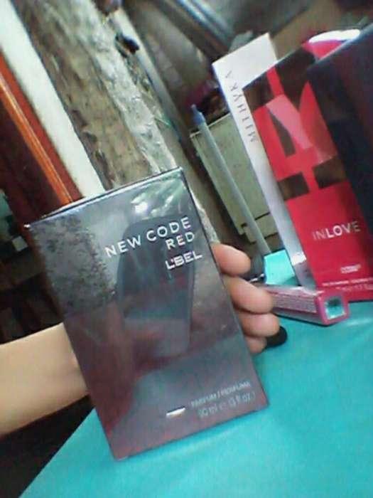 Perfume L'bel New Code Red