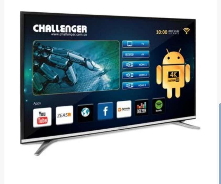 Televisor Challenger de 55 Pulgadas