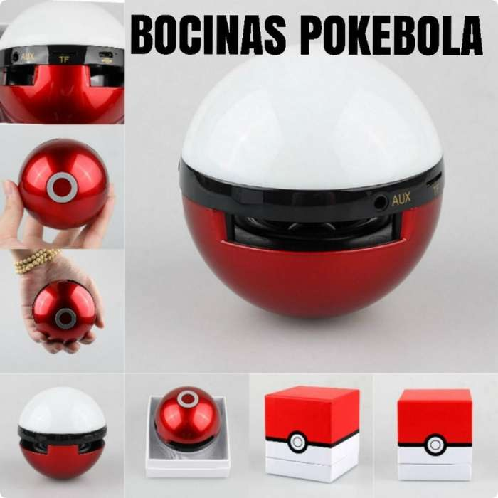 Bocinas Bluetooth Tipo Pokebola