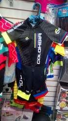Truzas uniformes deportivos patinaje y ciclismo a pedido