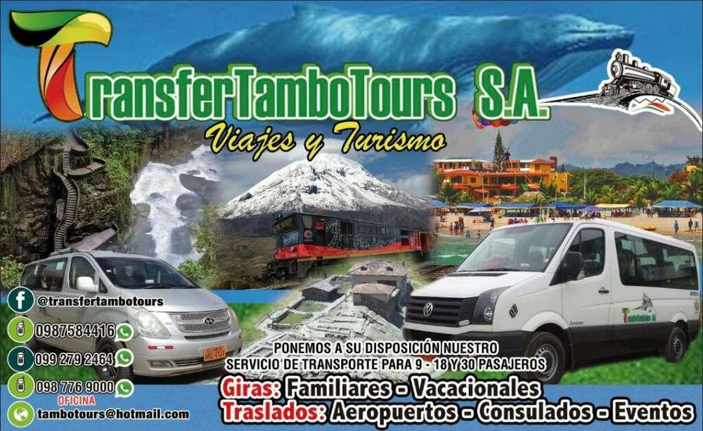 Viajes Y Turismo a Su Disposicion